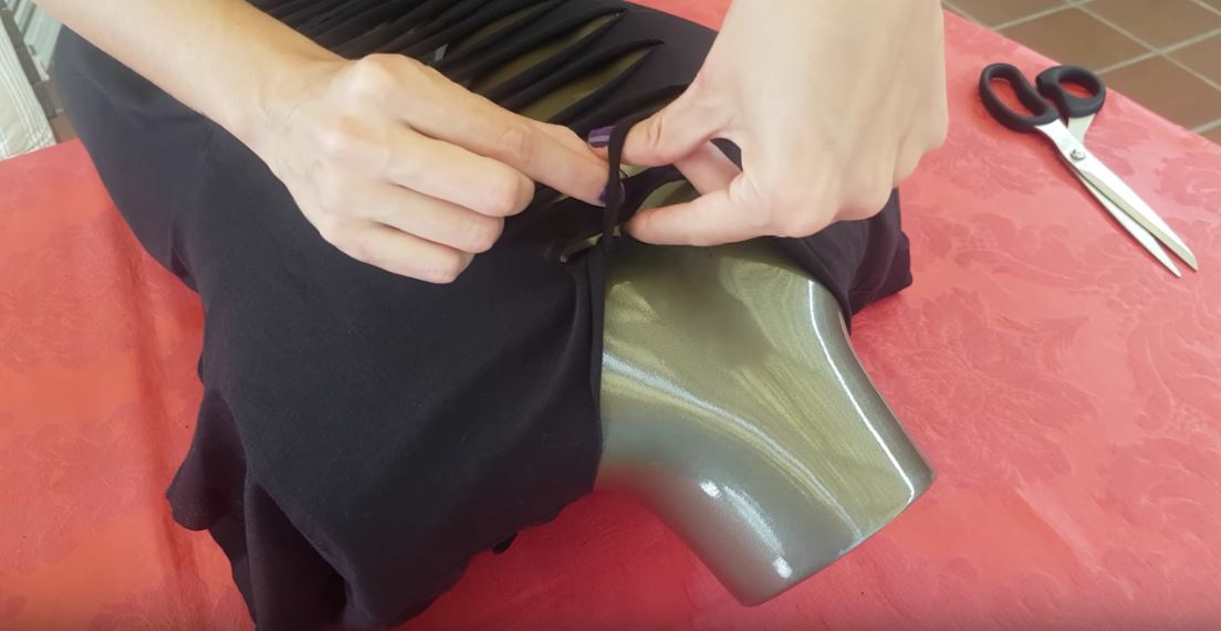 Camiseta corset coger tiras - Metal Life