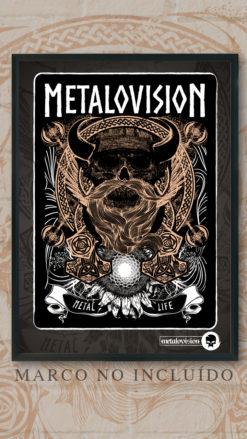 Metalovision - Lamina Borgarvirki - Metal Life